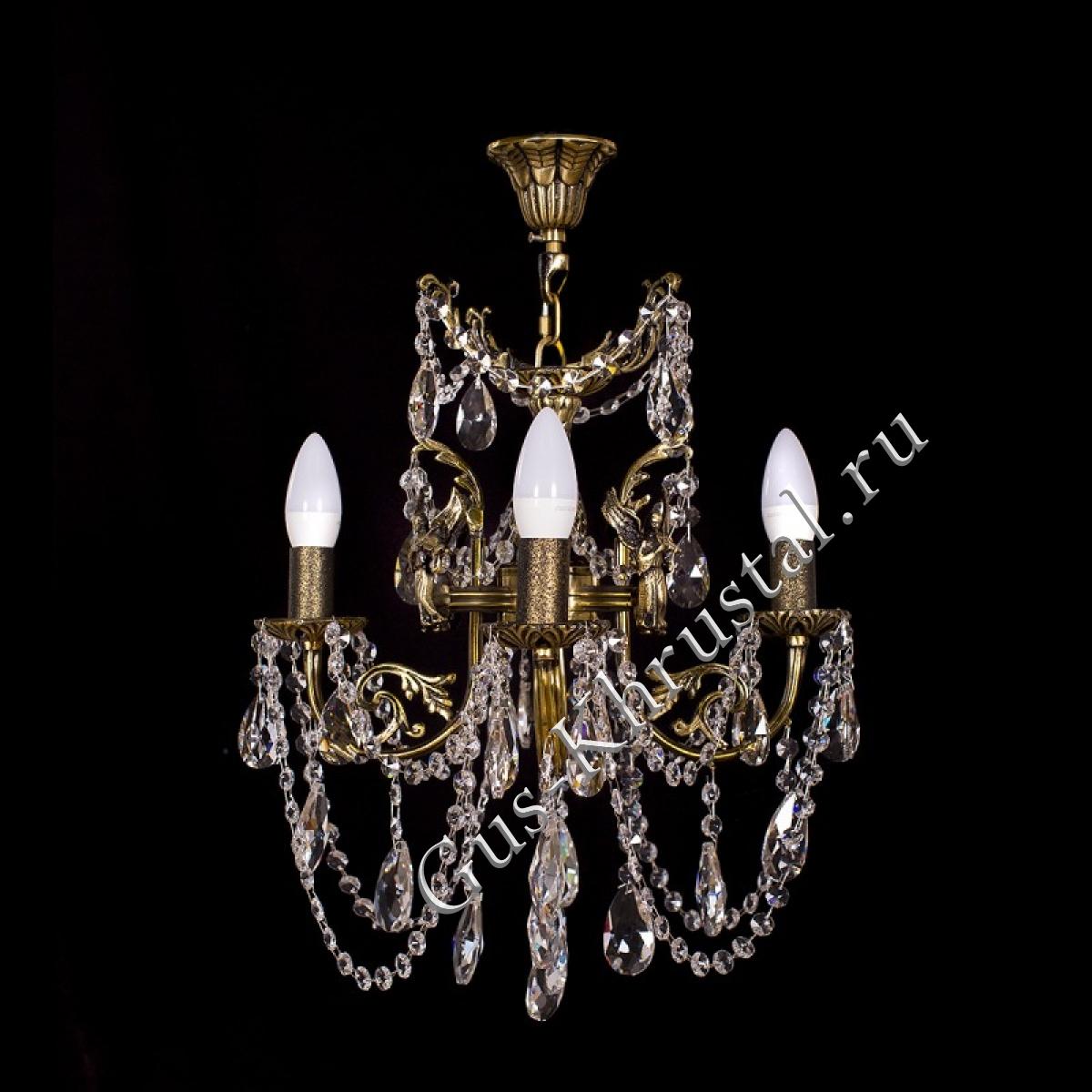 Люстра бронзовая Ангел № 1 (4 лампы)
