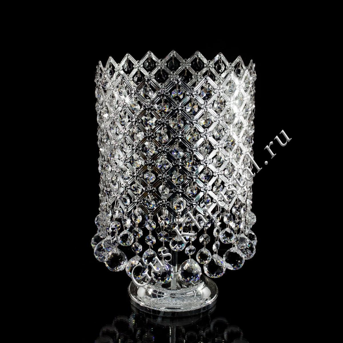 Настольная лампа Италия Сетка, шар 20 мм